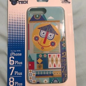 "Disney ""it's a small world"" iPhone 6/7/8 plus case"